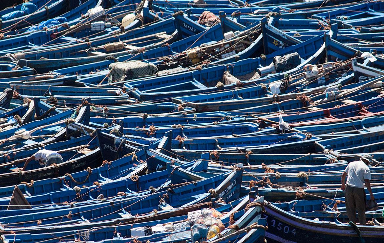 barcos de pesca en marruecos
