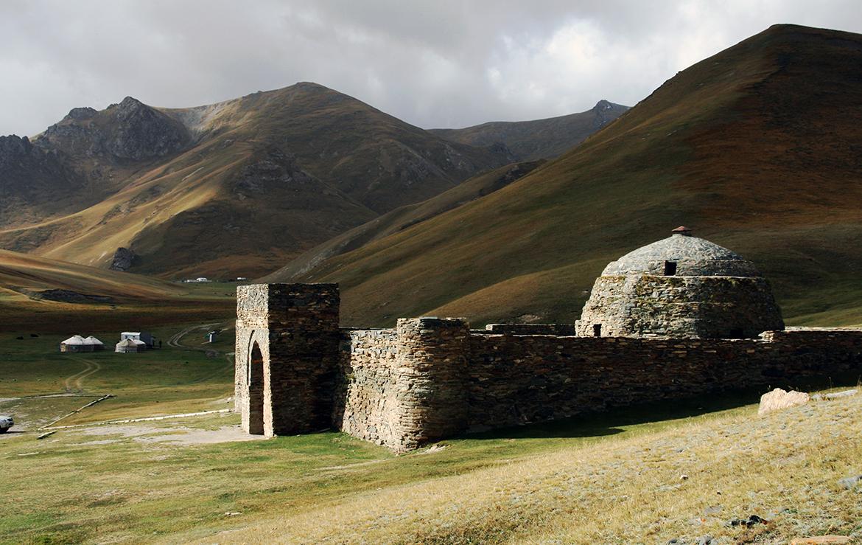 Tash Rabat en Kirguistán