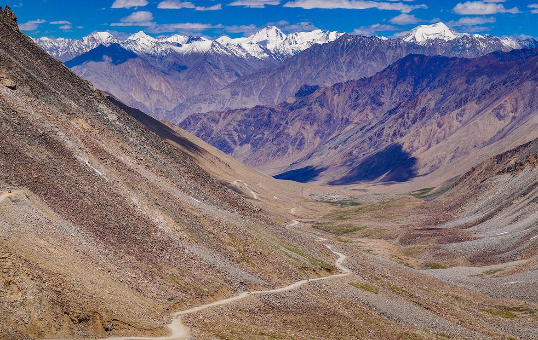 El valle de Mustang en Nepal