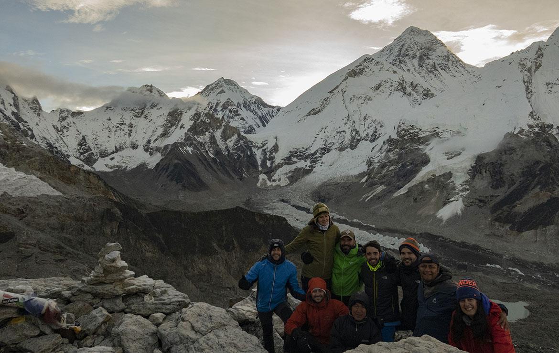 sunrise over Everest