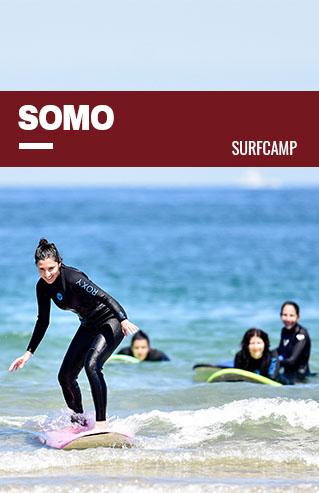 Clase de surf en Somo, Cantabria
