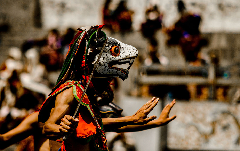 tradiciones bhutanesas