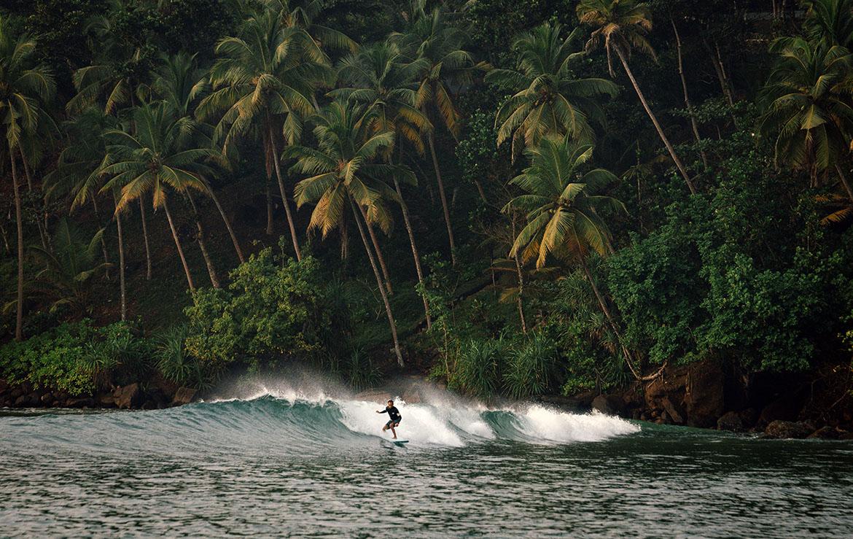 Sri Lanka Surf at Mirissa Beach